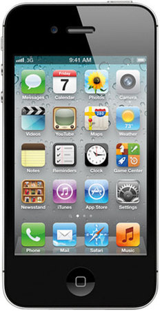 Смартфон APPLE iPhone 4S 16GB Black - Дубна